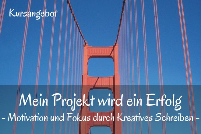 Bild: Rote Brücke, Golden Gate Bridge in San Fransisco | Texte: Mein Projekt für ein Erfolg - Motivation und Fokus durch Kreatives Schreiben | Sabine Lowsky